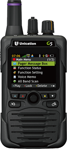 Unication G5 Public Safety Pager Delmarva Communications